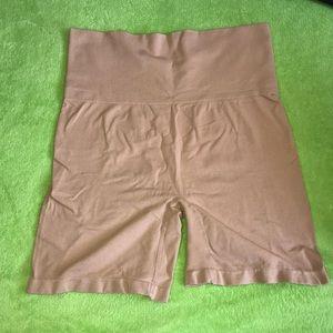 High waisted shaping shorts